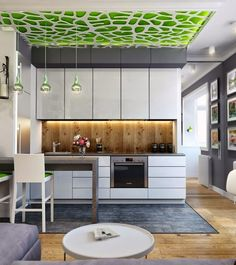 functional ideas for living room designs with open kitchen