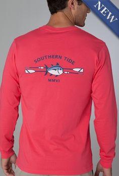long sleeve southern tide t-shirt