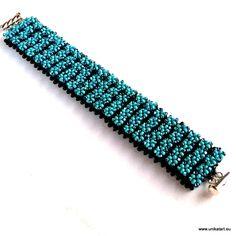 beading bracelet cubic raw green beads preciosa, http://unikatart.eu/koraliki-1355/drobne-koraliki-rocailles-preciosa.html