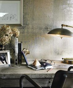 Metallic Wallpapers | House & Home