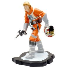 Star Wars: Animated Luke Skywalker X-Wing Maquette by Gentle Giant Studios. #Starwars #Statue #Figures #Gosstudio #gift . We recommend Gift Shop: http://www.zazzle.com/vintagestylestudio