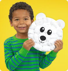 Polar Bear Plate Craft from Lakeshore Learning: A great introduction to arctic animals—and an adorable project that kids will love to display!