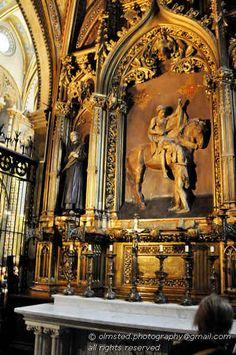 Montserrat, Spain. Saint Martin of Tours chapel.