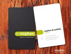 25 cartões de visita com design minimalista para você se inspirar - Designerd