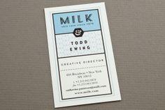 Blue Custom Skin Care Business Card