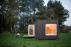 These Off-the-Grid Cabins in Belgium Keep Their Locations Secret Until You Book - Dwell
