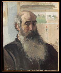 "Camille Pisarro ""Self Portrait"" 1873"