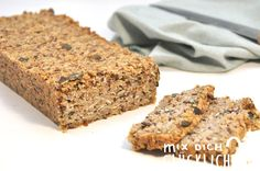 Bread without flour and yeast. - Power Pure Bread like Whole & Pure by Rewe homemade with or without Thermomix vegan possible, bread - Bread Bun, Bread Cake, Drink Recipe Book, Vegan Bread, Healthy Sweets, Plant Based Diet, Food Preparation, Bread Recipes, Baked Goods