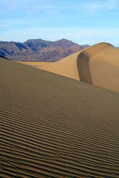 ˚Mesquite Flats Sand Dunes - Death Valley National Park