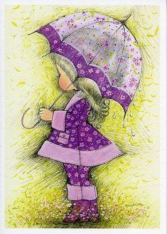 Daisy Lane greeting card