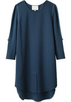 3.1 Phillip Lim Peacock Blue Dress love this!! Pairing this with some nude pumps!!!