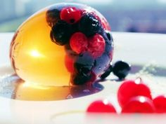 Panna Cotta, Berries, Deserts, Pudding, Eggs, Homemade, Cooking, Ethnic Recipes, Holidays