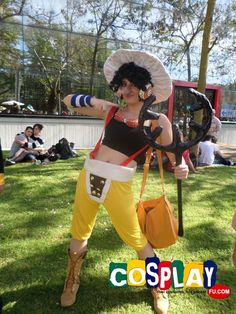 Usopp Cosplay from One Piece in Romics (spring edition) 2014 IT