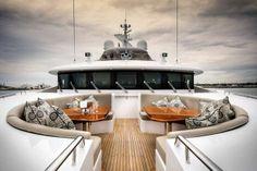 Aboard Waterline-designed superyacht Zenith