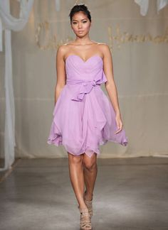 Carol Hannah - Willow Dress, my FAVORITE bridesmaid dress, hope the girls like it! I would like it in a darker purple though.