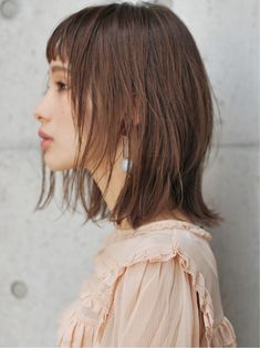 New haircut medium long highlights ideas Long Hair With Bangs, Haircuts For Long Hair, Medium Long Hair, Medium Hair Cuts, Bob Hairstyles, Medium Hair Styles, Short Hair Styles, Haircut Medium, Waves Haircut