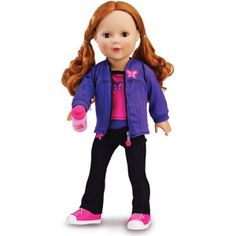My Life As Sporty Girl Fashion Doll Outfits, 2-Pack