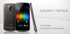 Google Galaxy Nexus, my device from now on...
