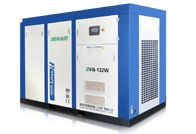 DENAIR Standard Type Variable Frequency Oil Injected Screw Air Compressor  The value of the variable frequency compressor Advantage of Starting  Low noise  Variable flow rate control Stabilivolt No Waste of High Pressure Model: DVA-132 Working Pressure (MPa): 0.75 Air Delivery (m3/min): 10.08-25.2 Voltage and IP Grade: 380V IP54 Noise(DB): 82±3 Outlet Pipe Diameter (inch): DN80 Starting Method: Direct Driven Air Cooling Dimension (mm) L: 2450, W: 1600, H: 1700 Weight (kg): 2800