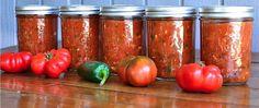 Easy Sweet Smokey Zucchini Salsa | reluctantentertainer.com