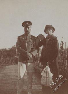 Nicholas II and his daughter Olga