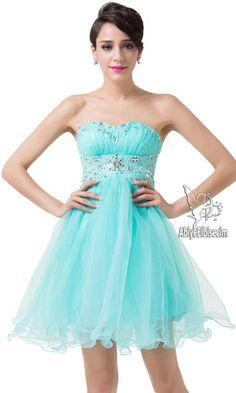 kısa abiye elbise turkuaz strapless elbise,abiye elbise,kısa abiyeler,uzun abiye,online abiye,ucuz abiye,