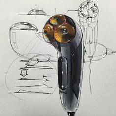 전기면도기 스케치 & 디자인 Electric Shaver Sketch & Design www.skeren.co.kr…