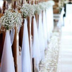 Romantyczny wystr j ko cio a w Obornikach is part of Church wedding decorations - Wedding Pews, Church Wedding, Wedding Decorations, How To Plan, Bridal, Pretty, Sari, Weddings, Diy