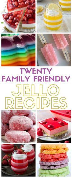 Jello Recipes have c