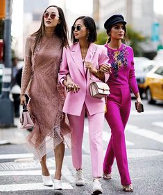 How to wear pink | Roze | Trends spring / summer 2018 | Streetstyle | Fashion | More on fashionchick.nl