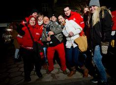 13 stycznia 2014 pojawiliśmy się też w Szczecinie, na spontanicznie zorganizowanym przez Jurka Owsiaka koncercie dla Łukasza, naszego wolontariusza. Fot. Artur Rawicz