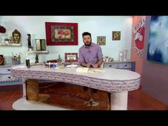 Espazio Ideal 27 de Febrero 2018 - YouTube Dining Table, Youtube, Furniture, Painting Tutorials, Home Decor, Painted Boxes, Things To Make, February, Art