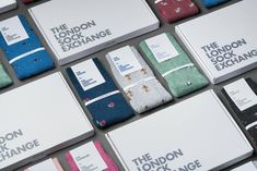Buying presents for men is a tricky business. Which is why we're on a mission to create the ultimate sock service for men. Treat a friend or loved one to a sock subscription from The London Sock Exchange and you'll have your gift sorted quicker than you can say Bob's your ankle. In each delivery you'll find three pairs of our brand new, exclusively designed socks. Each pair arrives complete with styling notes, packaged in a bespoke gift box designed to fit through the letter box. This will make Packing Box Design, Packing Boxes, Presents For Men, Gifts For Him, Sparkly Socks, Sock Subscription, Unique Gifts, Great Gifts, Gift Box Design