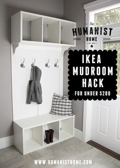 Ikea Mudroom Bench H
