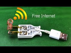 Get Unlimited Internet Free WiFi For Work 100% - YouTube Diy Electronics, Electronics Projects, Computer Technology, Technology Gadgets, Computer Troubleshooting, Rules For Kids, Phone Gadgets, Digital Tv, Hacks