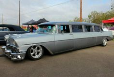 Chevy Limo by DrivenByChaos on DeviantArt 1956 Chevy Bel Air, Chevrolet Bel Air, General Motors, Classic Trucks, Classic Cars, Limousine Car, Automobile, Volkswagen, Toyota