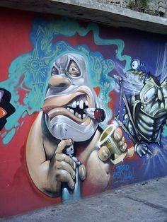 Graffiti Art: Waiting for Public and Official Acknowledgement graffiti Street Art Street Wall Art, Urban Street Art, Murals Street Art, Street Art Graffiti, Graffiti Artwork, Mural Art, Graffiti Wallpaper, Graffiti Characters, Amazing Street Art