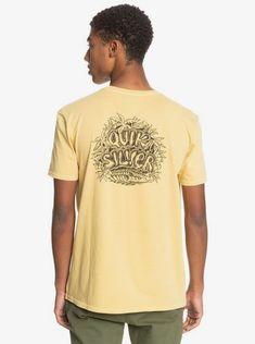 quiksilver, Surf Safari Organic T-Shirt, RATTAN (yhp0)
