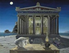 Paul Delvaux, Le temple