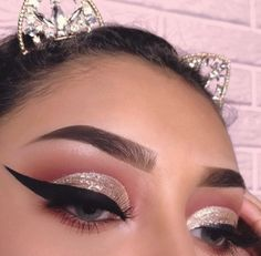 Cute eye make up Makeup Is Life, Makeup Goals, Makeup Inspo, Makeup Art, Makeup Inspiration, Makeup Tips, Beauty Makeup, Makeup Ideas, Women's Beauty