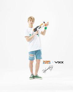 """283 curtidas, 1 comentários - I ♥ VIXX St★rlight   140804 (@vixxleoken) no Instagram: """"[VIXX for Gyeongju World Resort Endorsement] #VIXX #Hyuk #Sanghyuk #maknae #handsome #빅스 #엔 #레오 #켄…"""""""