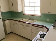 retro kitchens 1940s | Create a 1940s style kitchen - Pam's design tips - Formula #1 - Retro ...