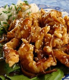 Recipe For Crispy Garlic Ginger Chicken - Better than take-out because its fresh, hot and crunchy right from your kitchen.