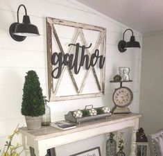 Gather Wood sign, Gather Sign, Small Gather Cutout Sign, Medium Gather Wall Sign, Large Gather Sign, Extra Large Gather Sign