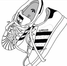 adidas, shoes, and drawing imageの画像