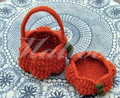 My Hobby Is Crochet: Halloween Pumpkin Basket - Free Crochet Pattern - Guest Contributor Post