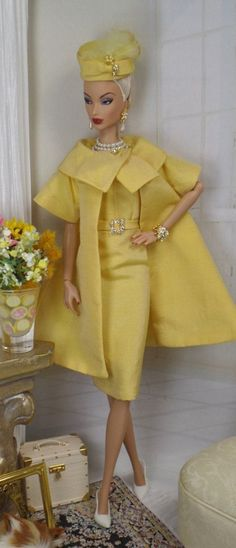 nice Bouton d'Or for Silkstone Barbie and Victoriea by MatisseFashions, $115.00... by http://www.danafashiontrends.top/fashion-dolls/bouton-dor-for-silkstone-barbie-and-victoriea-by-matissefashions-115-00/