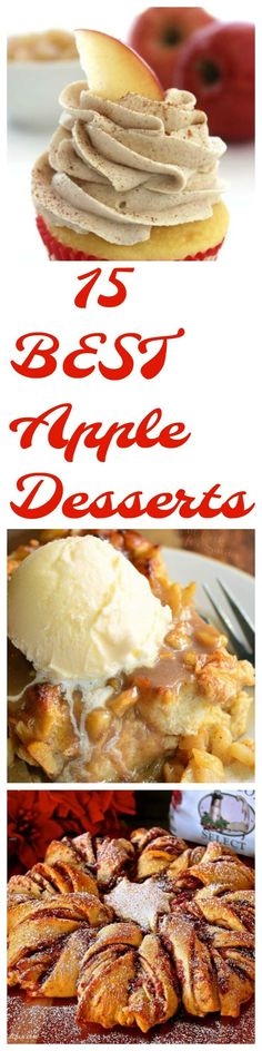 It's fall and we are falling for apples… get it? My jokes aren't that great…. but I do fall for delicious apple desserts! Our apple trees are just loaded with apples! What s…