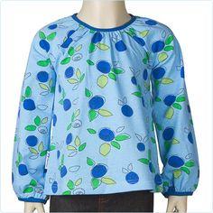 "JNY Shirt ""Blueberry"" blau - LolaKids"