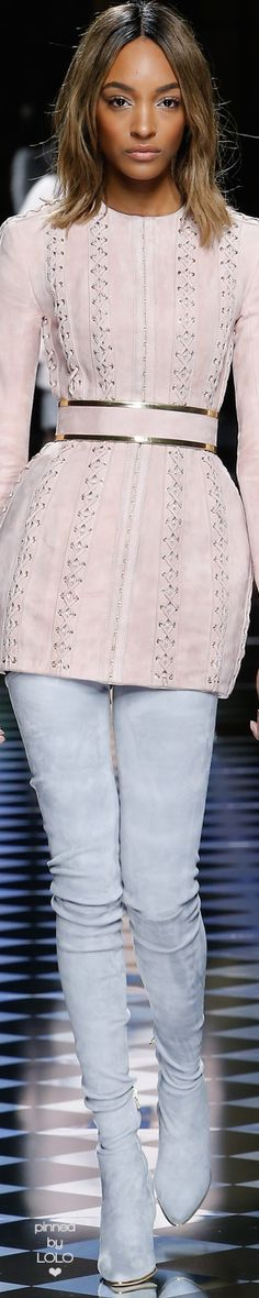 Balmain Fall/Winter 2016 RTW | LOLO❤︎